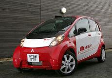 Авточасти за японски и корейски автомобили: Електрическото Mistubishi i-MiEV
